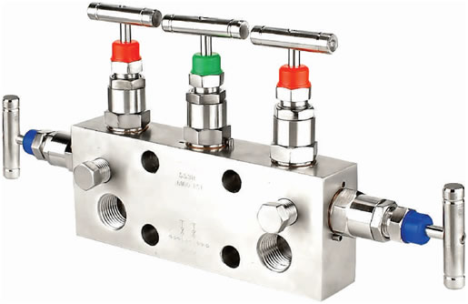 Manifold - R - 5 Way-02 (Direct Mounting)