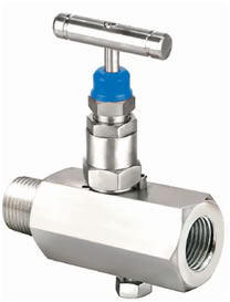 Hex Needle Valve with Vent