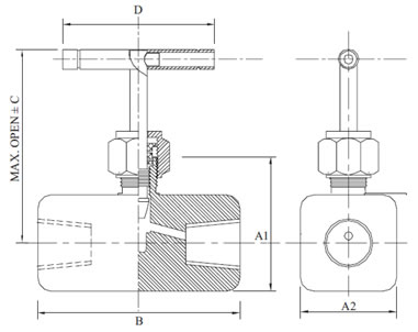 High Pressure Needle Valve Diagram